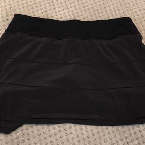 Lululemon black skirt, Size 10